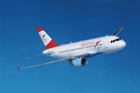 A319 in den Farben der AUA; Foto: Austrian Airlines