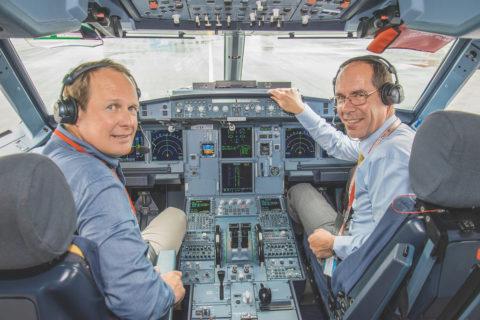 Der Winkel der maximalen Landeklappenstellung wurde bei der A321neo von 35 auf 37 Grad vergrößert © Dietmar Plath