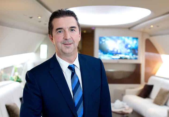 Benoit Defforge, Managing Director von Airbus Corporate Jets (Foto: Airbus)