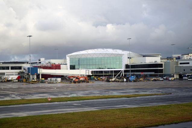Ankunft Flughafen Sydney
