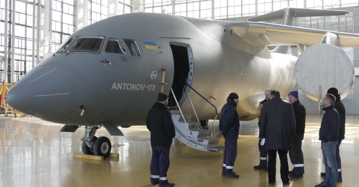 Die An-178 soll 18 Tonnen tragen können