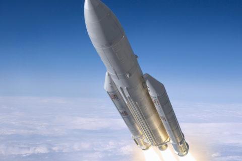 Die Ariane-5 hat bereits 74 erfolgreiche Flüge in Reihe absolviert. Bild: shutterstock