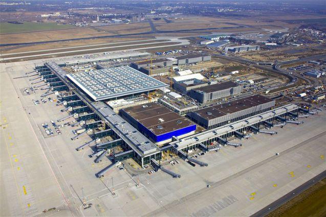Flughafen Ber Baubeginn