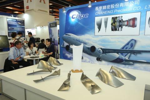 Turbinenschaufeln der Firma Chaheng Precision. Bild: Chaheng Precision