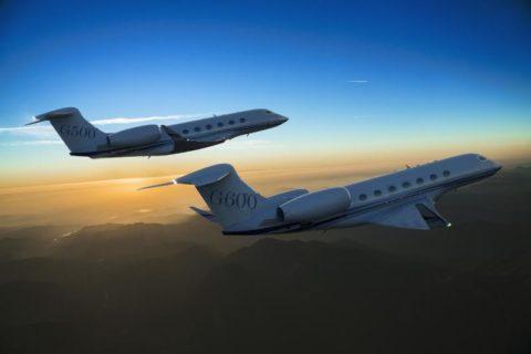 Computerdarstellung von G500 und G600. (Foto: Gulfstream)