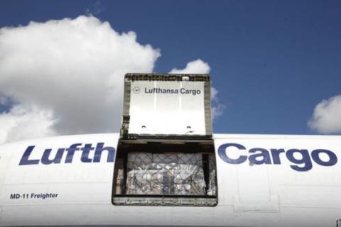 Bei Lufthansa Cargo soll es wieder aufwärts gehen. Foto: Lufthansa