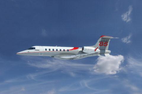 Computerdarstellung des Learjet 85 (Foto: Bombardier)