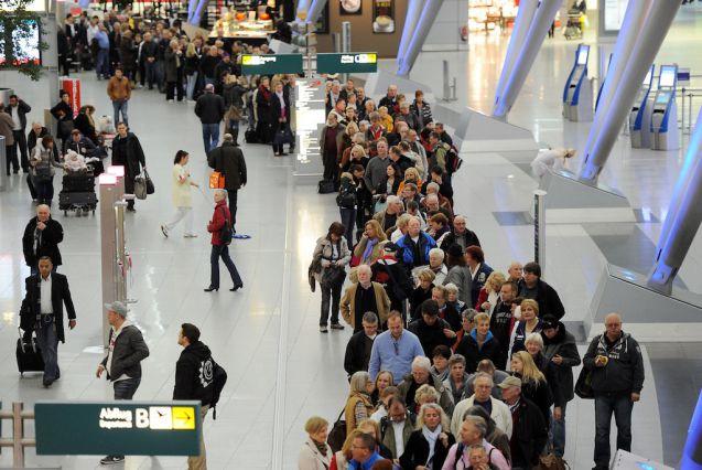 Flughafen Düsseldorf Streik