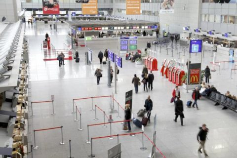 Streiks, Abschreibungen und Kreditzinsen setzten dem größten deutschen Airport zu. Foto: Andreas Meinhardt/ Fraport