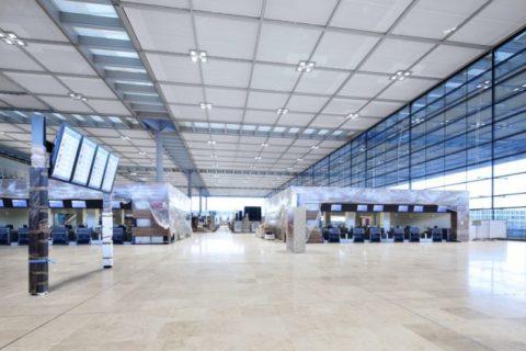 Foto: Alexander Obst Marion Schmieding Flughafen BER.