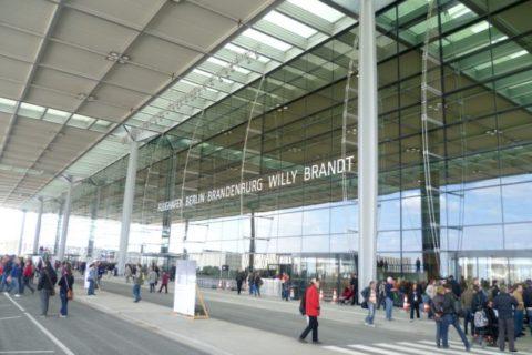 Foto: Günter Wicker Flughafen Berlin Brandenburg