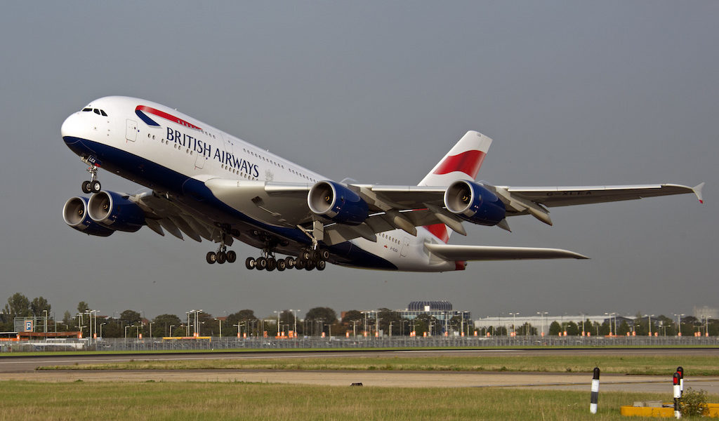Bild: British Airways.