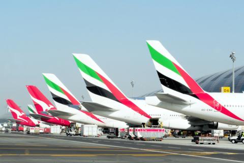Seit zwei Jahren Partner: Emirates und Quantas. Bild: Emirates