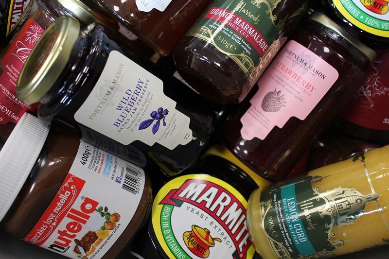 Insgesamt sammelte der LCY allein in diesem Jahr von Januar bis März bereits 300 verschiedene Lebensmittel ein. Bild: London City Airport