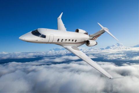 Die Challenger 350-Jets von NetJets bieten Platz für bis zu zehn Passagiere. Bild: Bombardier