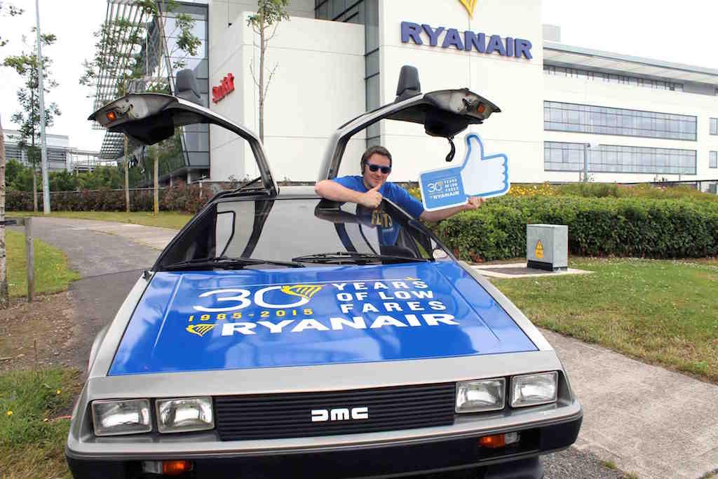 Facebook Ryanair