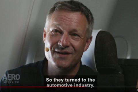 Flugkapitän Peter Koch ist Flottenchef A220 bei Swiss