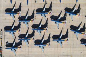 737-MAX-Flotte gegroundet